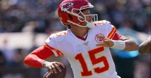NFL: Patrick Mahomes contre Tom Brady peut Kansas City, les Patriots s'arrêter?