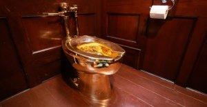 Or, Toilettes Churchill-Château volé, il est de 1,1 Millions d'Euros valeur