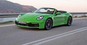 Porsche 911 Carrera S Cabriolet: Essai dans les voitures de sport Classiques