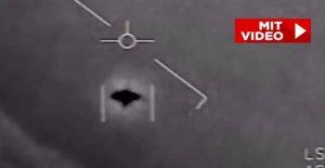 US Navy: Ces trois incroyable OVNI Vidéos sont vraiment!