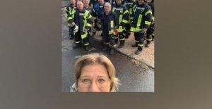 Wadern: les feux de chez la Voisine: Rehlingers Sauveur-Selfie