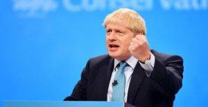 Brexit: aujourd'Hui, emballe, Boris Johnson, lors du Congrès de son plan secret de