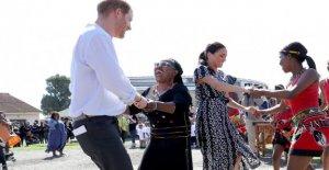 Harry et Meghan commencer Afrique de Voyage: en Avion au Cap