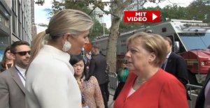 Merkel et de la Reine Maxima à New York: Ici comprend la Chancelière Franz