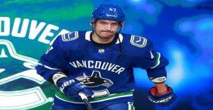 NHL: Sven Bärtschi est de Vancouver, expulsés à - Vue