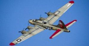Sept Morts dans le Crash de Weltkriegsbomber - Vue