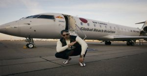Vienne: Red Bull Listening Session au Zénith de Jet avec la RAF Camora - Vue