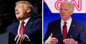 Biden, en poussant pour voter par correspondance, appels d'Atout opposition à Dem propositions ridicule