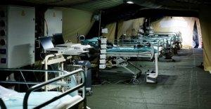 La France voit les 24 heures de pointe dans les coronavirus victimes, devient 5e nation avec la mort sans frais de garniture de 1 000