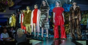 La Fashion Week de berlin: Marque au lieu de Toile de fond