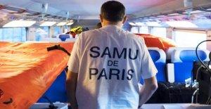 La France évacue coronavirus patients de inondé les hôpitaux à l'aide de trains à grande vitesse, les avions militaires